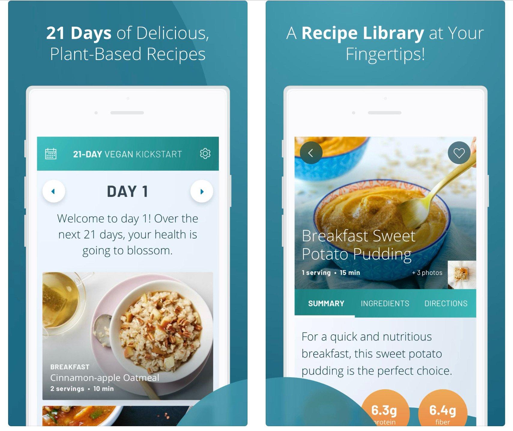 21 Day Vegan Kickstart app