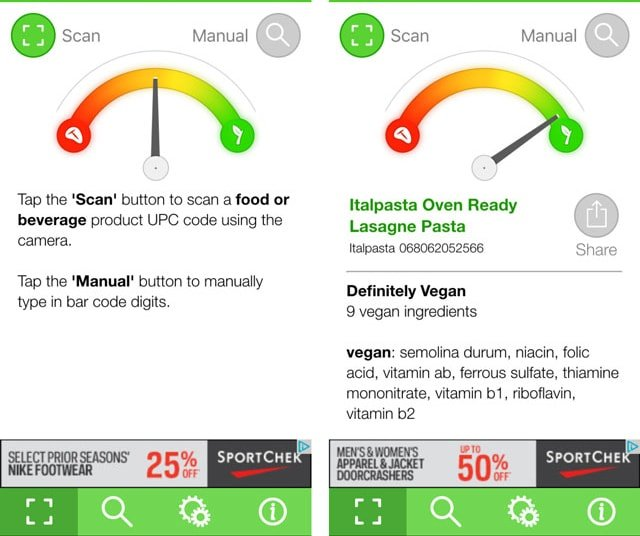 My Top 8 Must Have Vegan Apps that will make your life so much easier! Get out your iPhone and download these. Being vegan just got easier. #itdoesnttastelikechicken