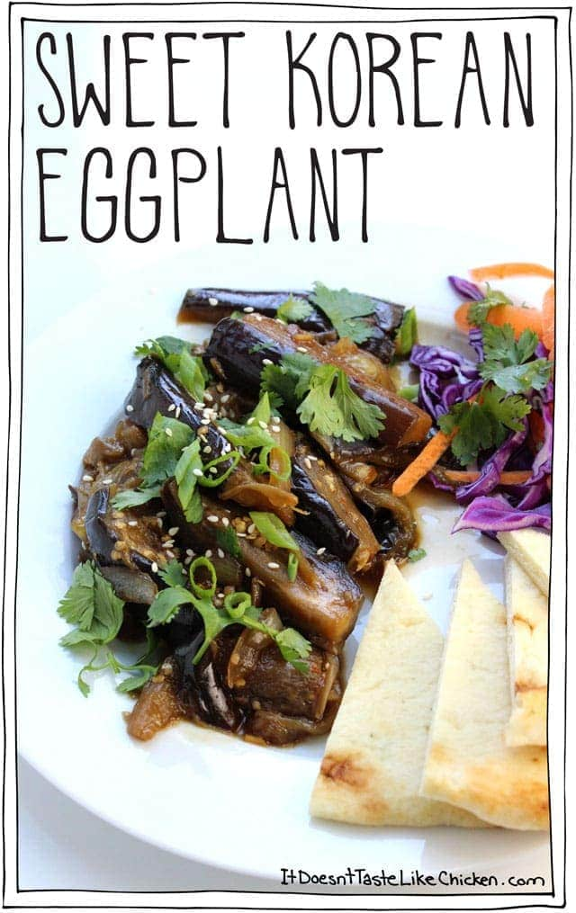 Sweet Korean Eggplant