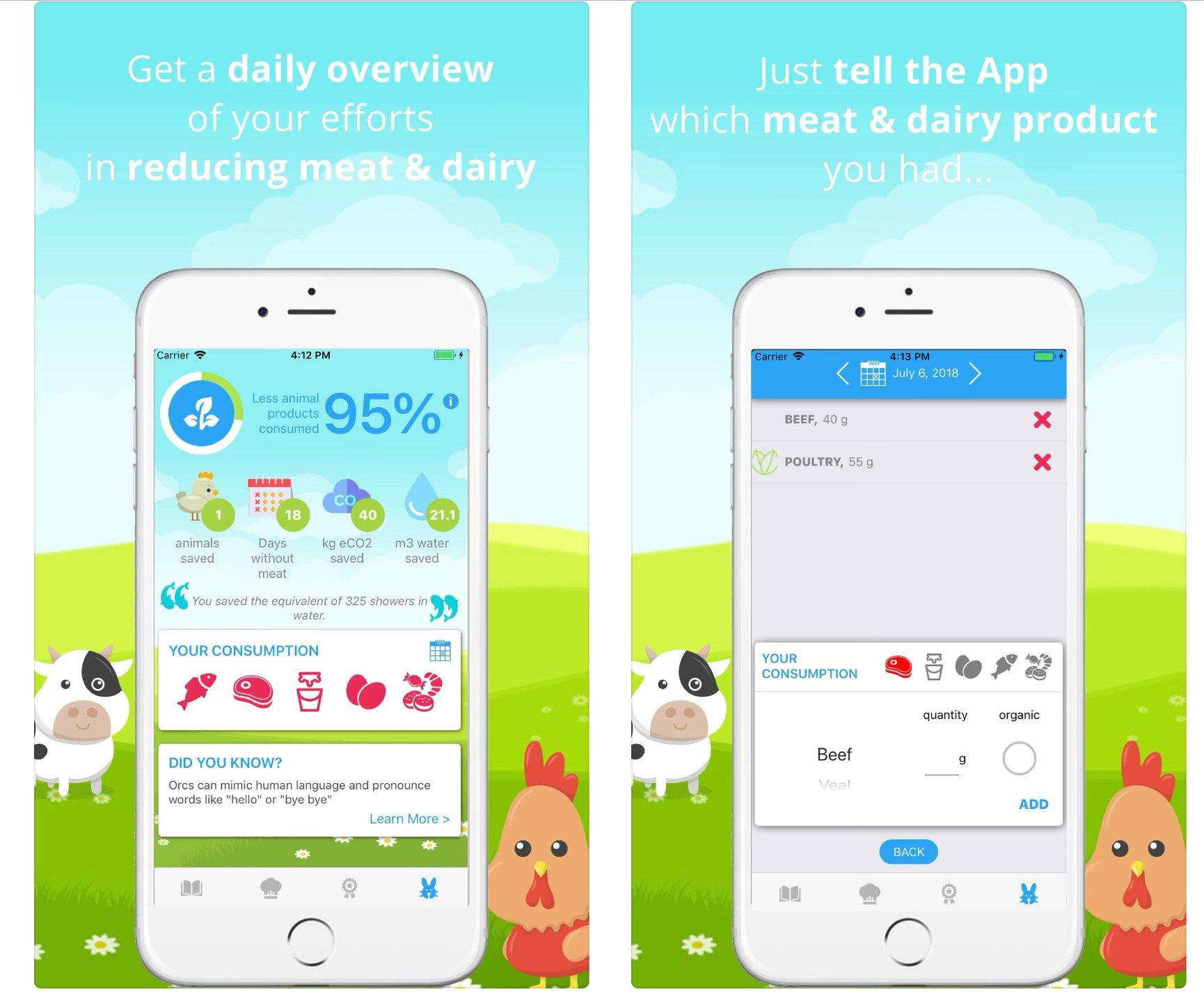Quit Meat app