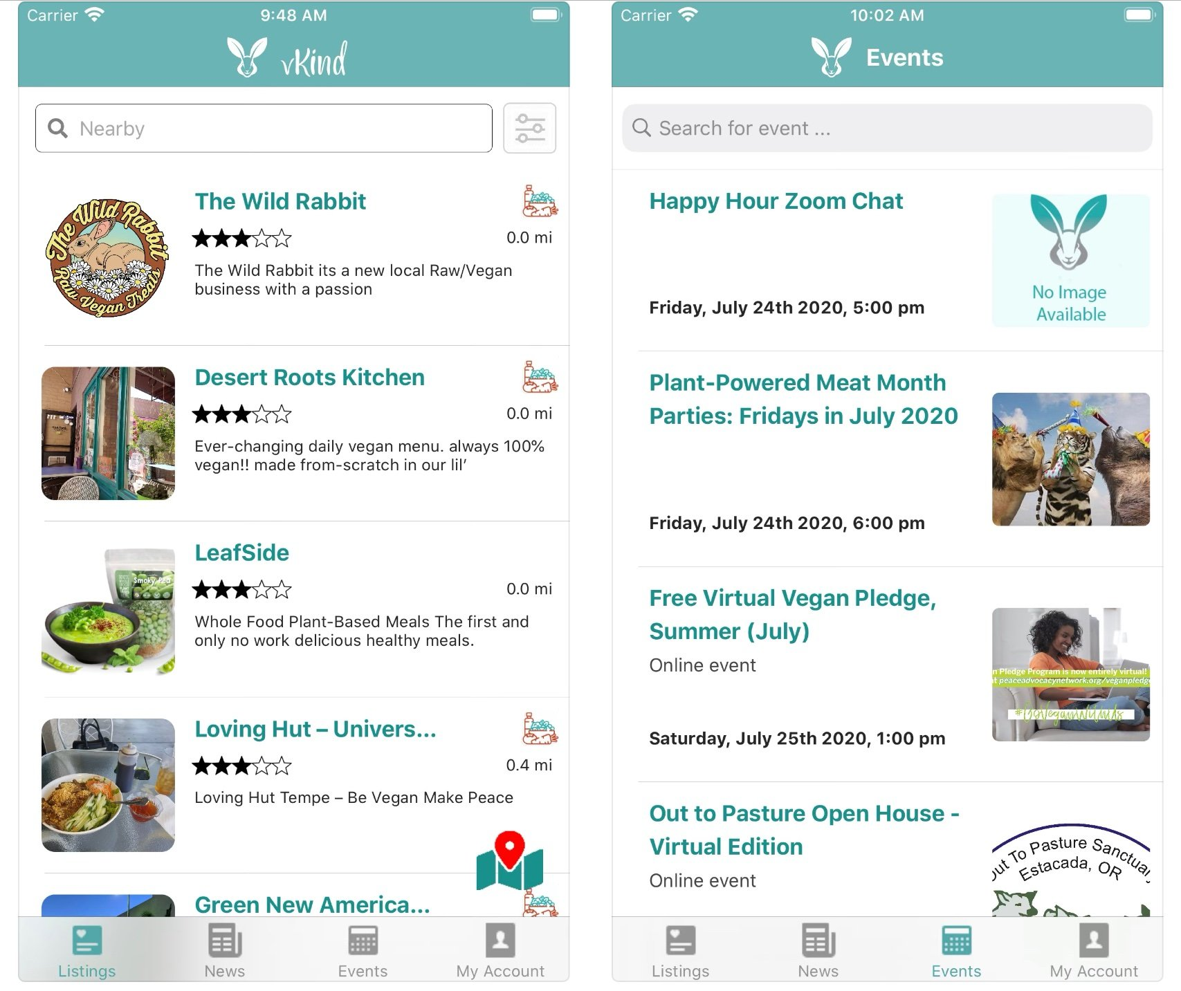 vKind app