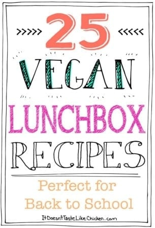 25 Vegan Lunchbox Recipes – Perfect for Back to School
