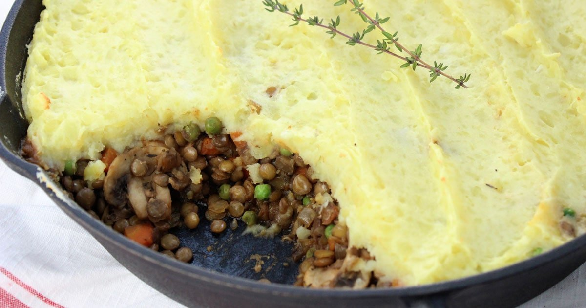 Seriously The Best Lentil Shepherd's Pie • it doesn't ...
