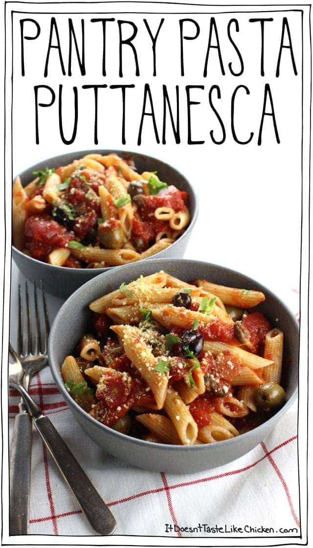 Pantry Pasta Puttanesca
