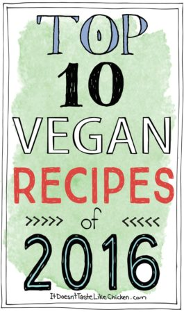 Top 10 Vegan Recipes of 2016