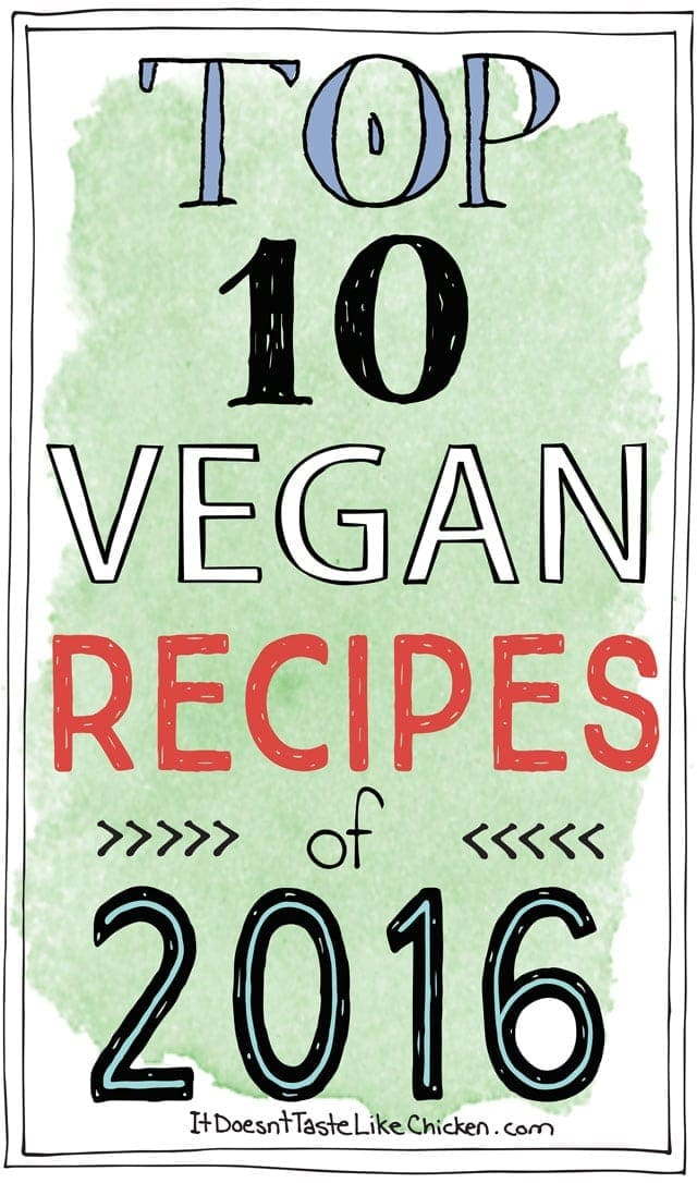 Top 10 Vegan Recipes of 2016
