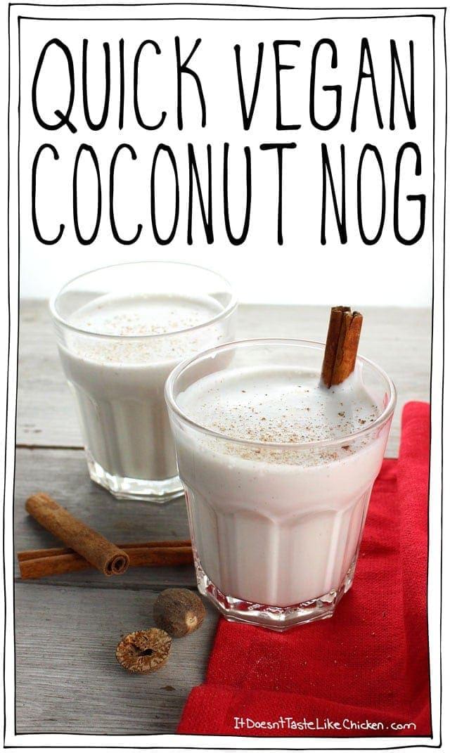 Quick Vegan Coconut Nog