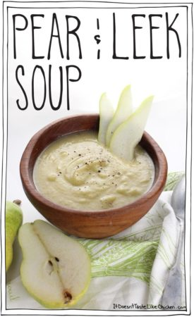 Pear & Leek Soup