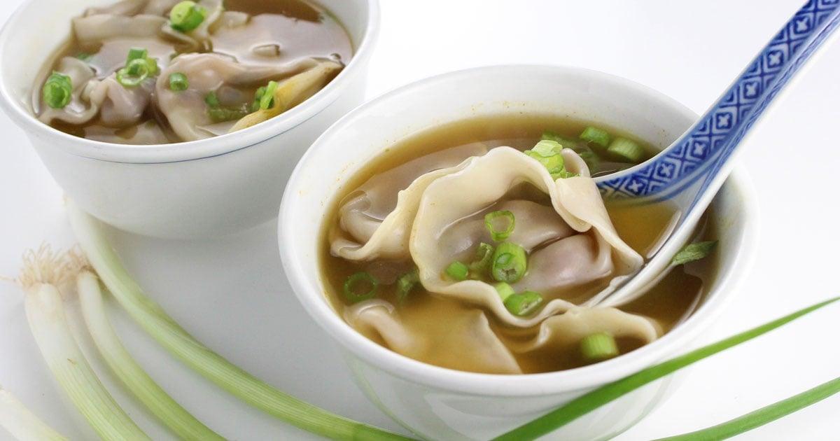 Vegan Wonton Soup It Doesn T Taste Like Chicken