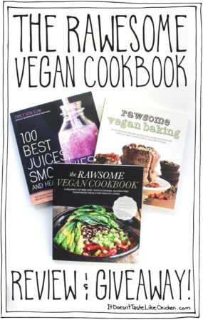 The Rawesome Vegan Cookbook Review & Giveaway