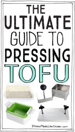 The Ultimate Guide to Pressing Tofu