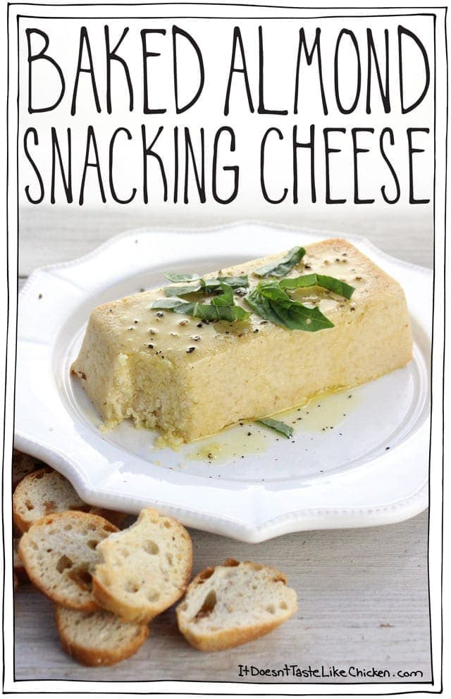 Baked Almond Snacking Cheese