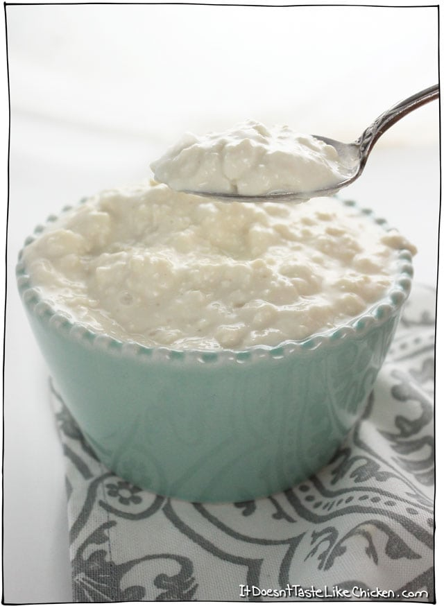 Fantastic Quick Easy Vegan Cottage Cheese It Doesnt Taste Like Download Free Architecture Designs Jebrpmadebymaigaardcom