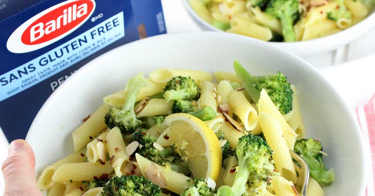 Garlic Lemon Broccoli Pasta • It Doesn't Taste Like Chicken
