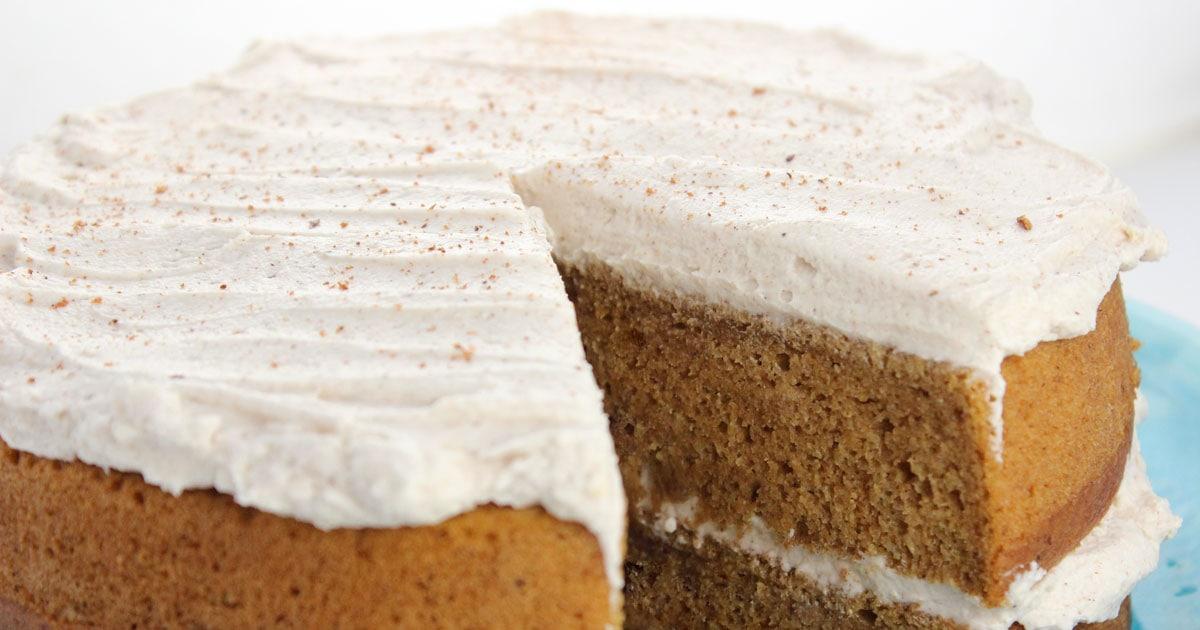 Egg Free Pumpkin Spice Cake