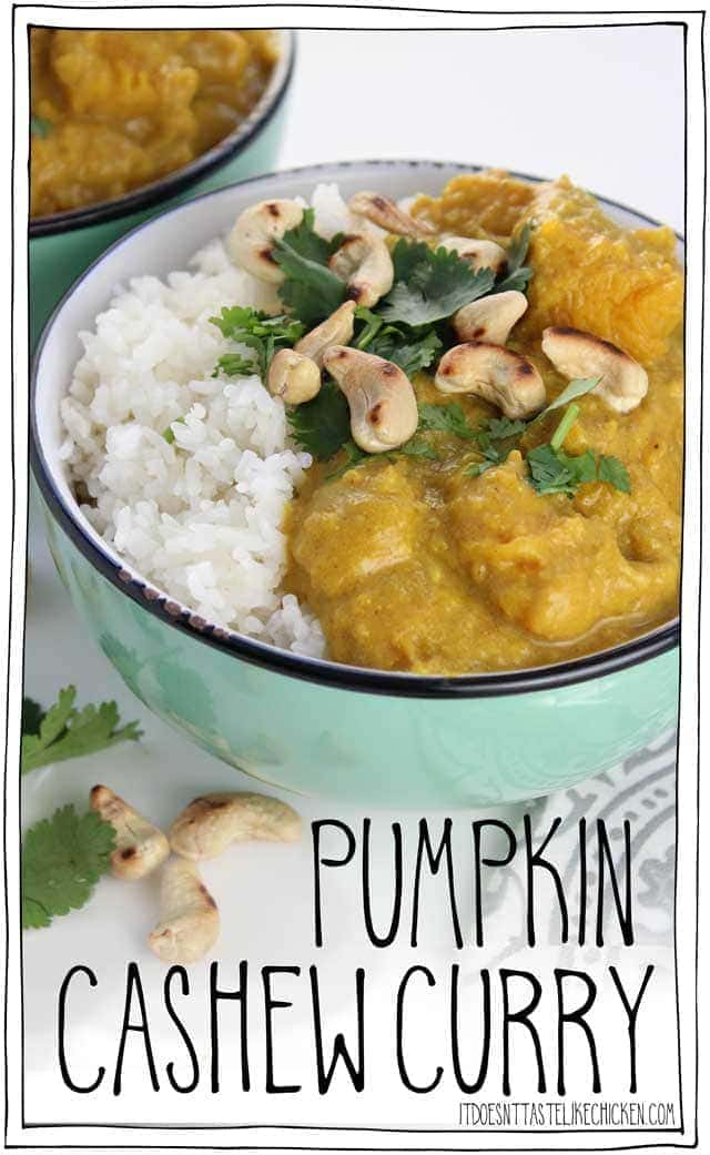 Pumpkin Cashew Curry