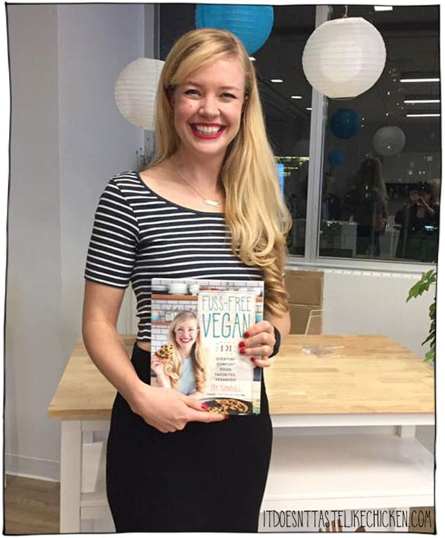 Fuss-Free Vegan book launch party!! The release of my first cookbook, a horror story, CBC interview, and so many more little tidbits of fun.