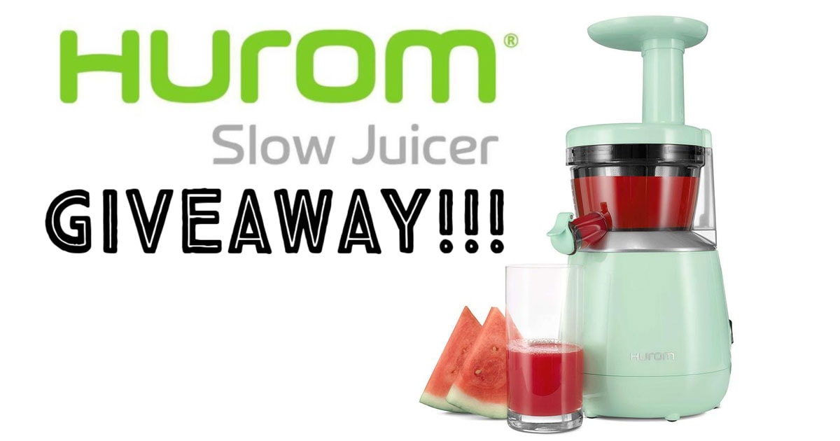 Hurom Slow Juicer Recipe : HUROM Slow Juicer Giveaway! ? It Doesn t Taste Like Chicken