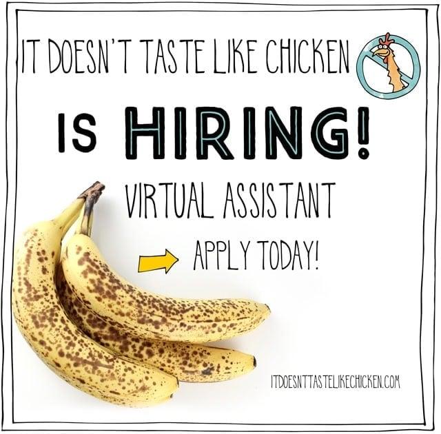 It Doesn't Taste Like Chicken is hiring! • It Doesn't Taste