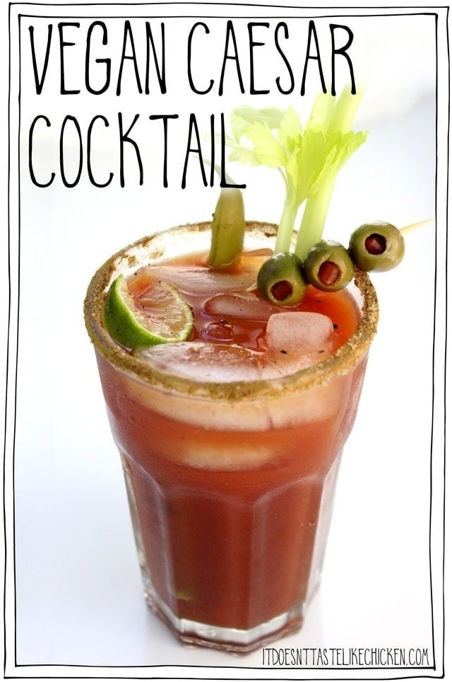 Vegan Caesar Cocktail