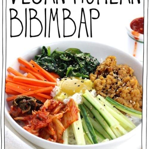 Vegan Korean Bibimbap It Doesn T Taste Like Chicken