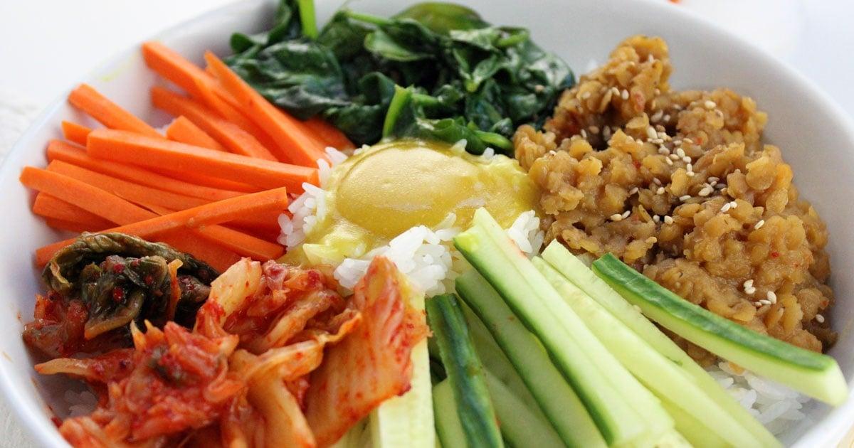 Vegan Korean Bibimbap It Doesnt Taste Like Chicken