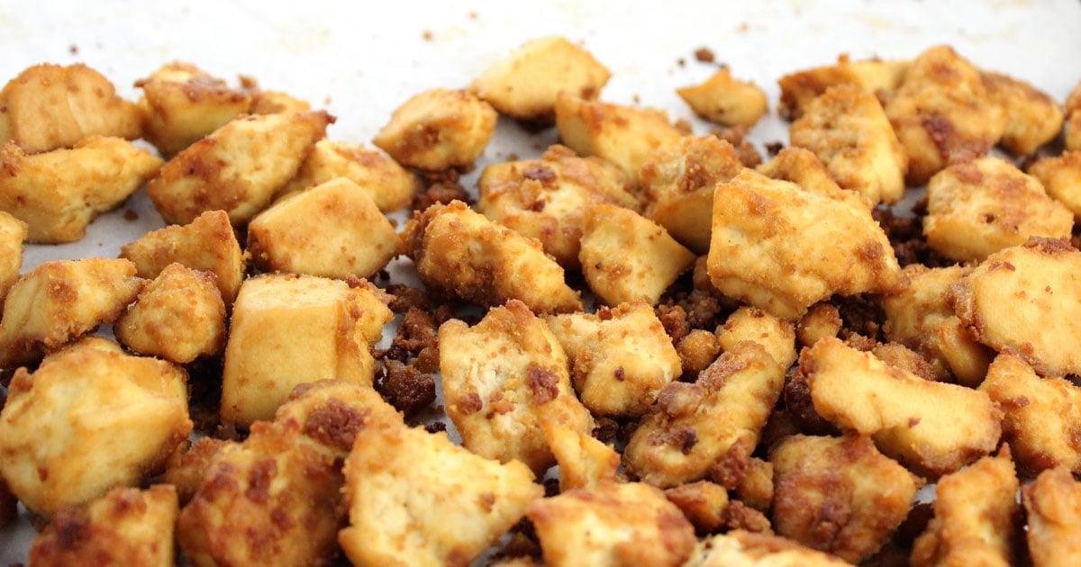 Baked Tofu Bites Use These Everywhere It Doesnt Taste Like Chicken