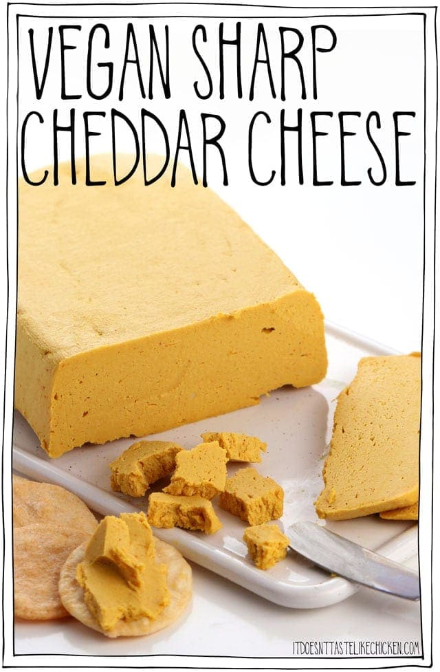Vegan Sharp Cheddar Cheese