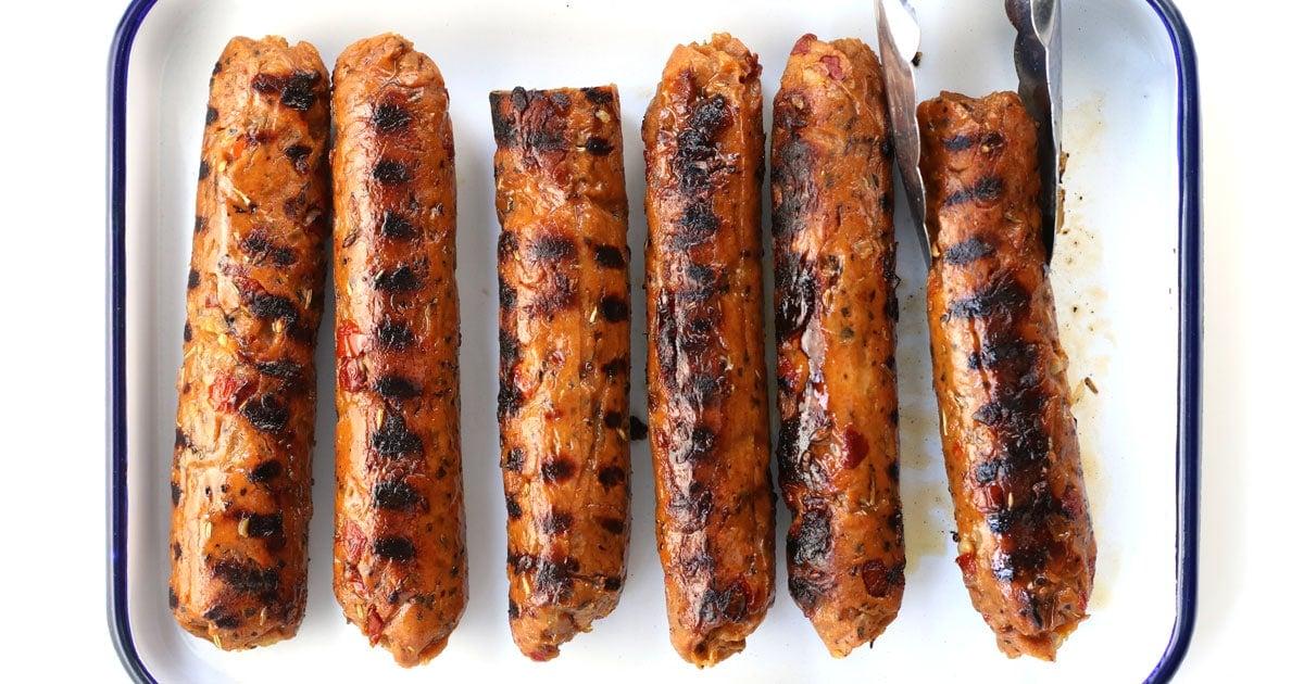 Vegan Italian Seitan Sausages It Doesn T Taste Like Chicken
