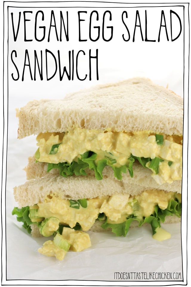 Vegan Egg Salad Sandwich It Doesn T Taste Like Chicken