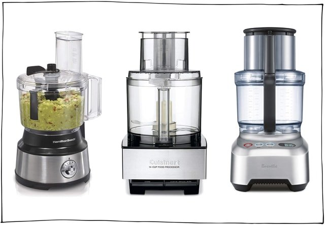 A food processor will allow you to make homemade hummus and vegan cheeses.