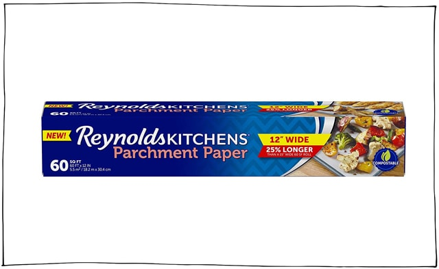 I use parchment paper almost daily in my kitchen.