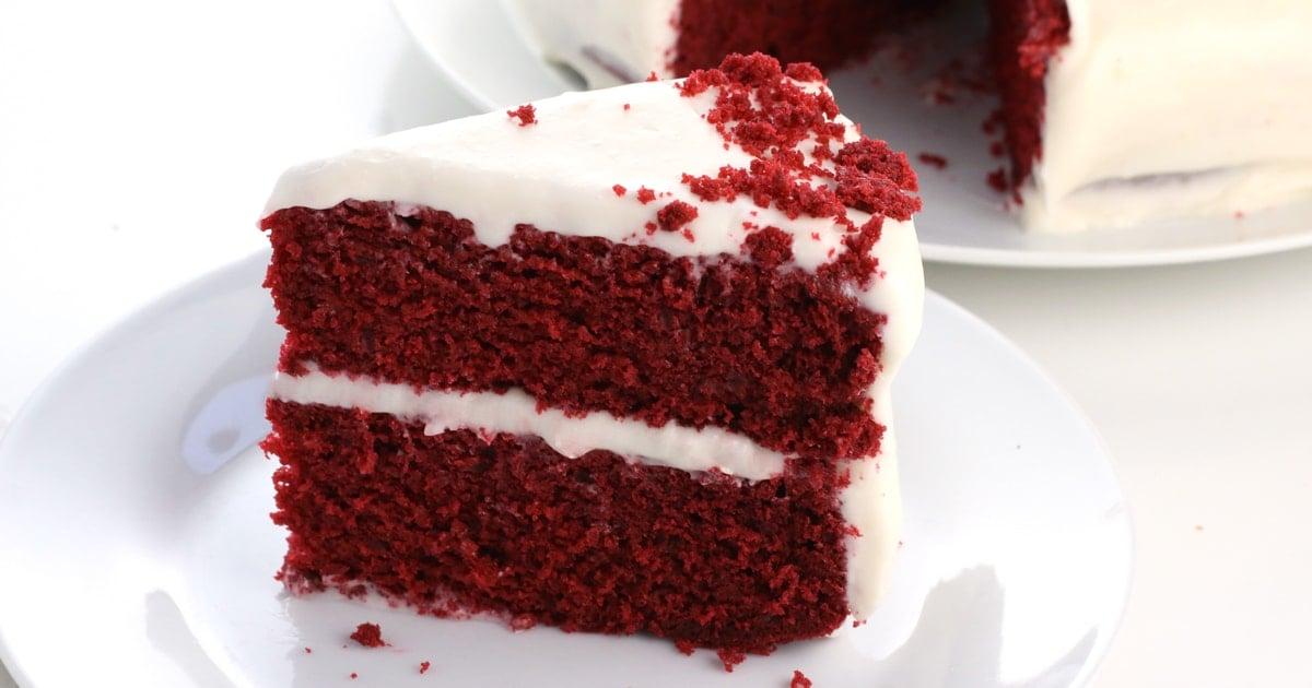 Vegan Red Velvet Cake It Doesn T Taste Like Chicken