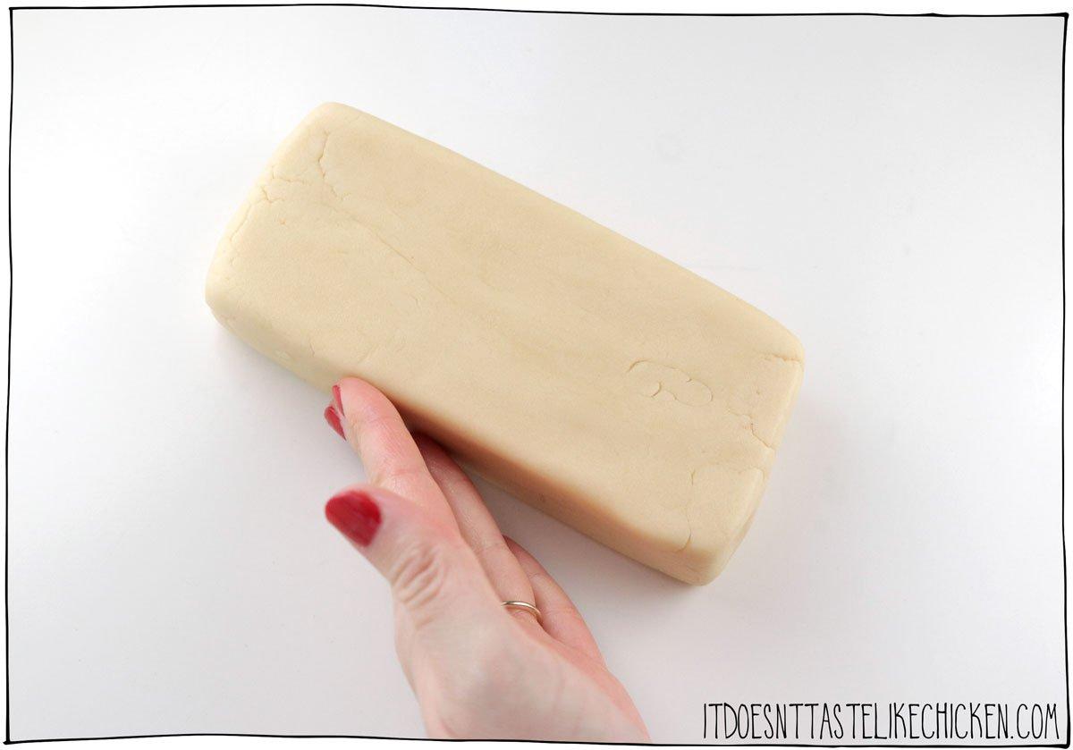 form the shortbread dough into a brick and chill.