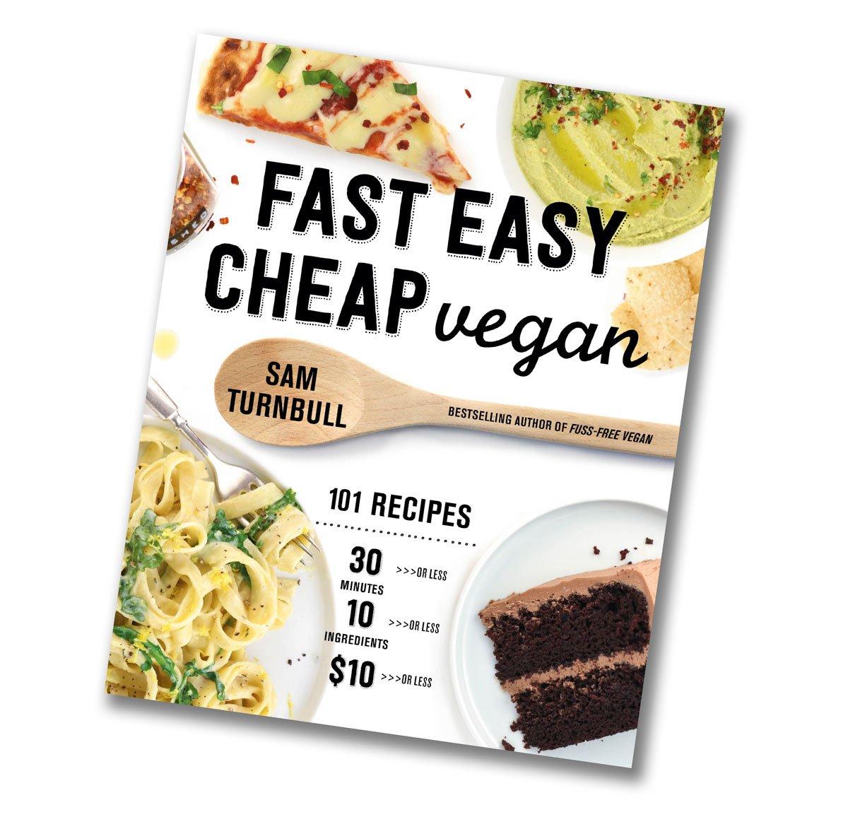Fast Easy Cheap Vegan cookbook cover