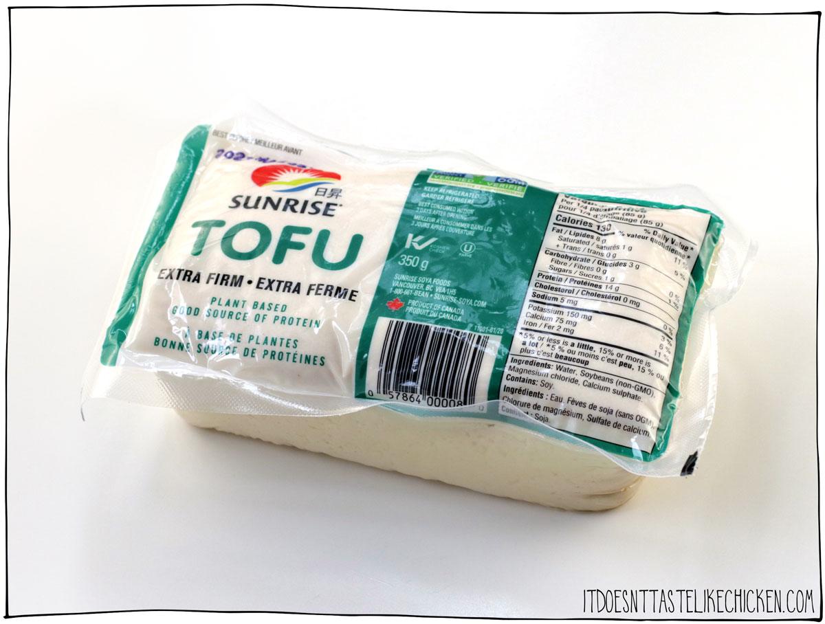 Sunrise Extra Firm Tofu