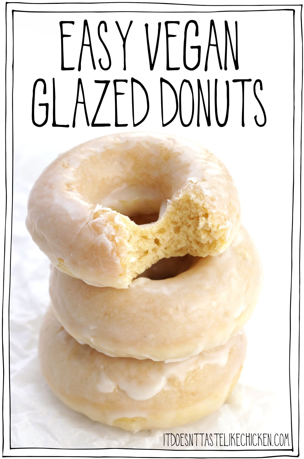 So fluffy and light yet decadent and sweet, Easy Vegan Glazed Donuts are just 10 ingredients and take less than 30 minutes to make. These sugary flavour bombs are an explosion of sweet, melt in your mouth deliciousness with every bite that will have you reaching for another one before you're done your first!